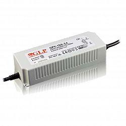 PREMIUMLUX Napájecí zdroj 150W 6,25A 24V DC PFC, voděodolný / venkovní, Global Leader Power LUX00785
