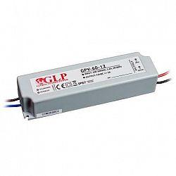 PREMIUMLUX Napájecí zdroj 60W 5A 12V DC voděodolný GPV LUX00835