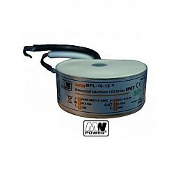 PREMIUMLUX Napájecí zdroj MPL 10W 0,83 A 12V DC, do krabice, voděodolný LUX00122