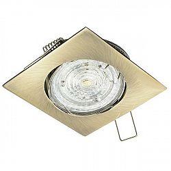 PREMIUMLUX Podhledové bodové svítidlo DELTA 35mm nikl + patice, LUX01133