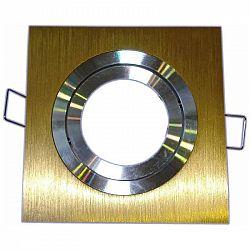 PREMIUMLUX Podhledové bodové svítidlo EPSILON-K ALU zlatá + patice, MAJ0629