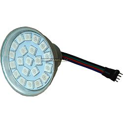 PREMIUMLUX RGB LED žárovka 3W 21xSMD5050 12V 4-pin konektor 100lm