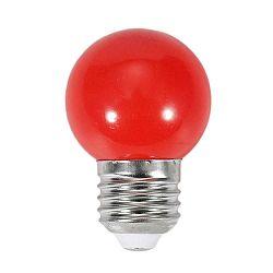 SPECTRUM LED žárovka 1W 4xSMD2835 E27 20lm ČERVENÁ