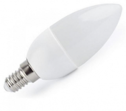 SPECTRUM LED žárovka 4W 6xSMD2835 E14 320lm Teplá bílá