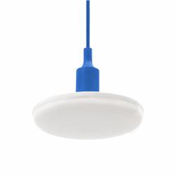 SPECTRUM LED závěsné svítidlo ALBENE ECO 24W, MODRÝ ZÁVĚS, TEPLÁ BÍLÁ SLI044005_BLUE