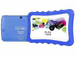 Tablet KidsTAB7 BLOW quad silikonové pouzdro modré